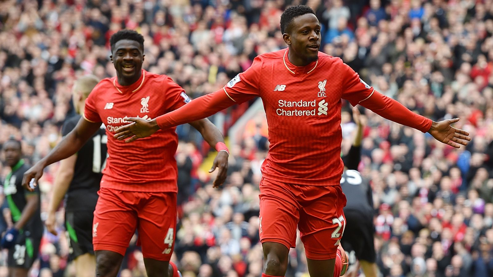 Origi nets brace as Liverpool thrash Stoke in EPL
