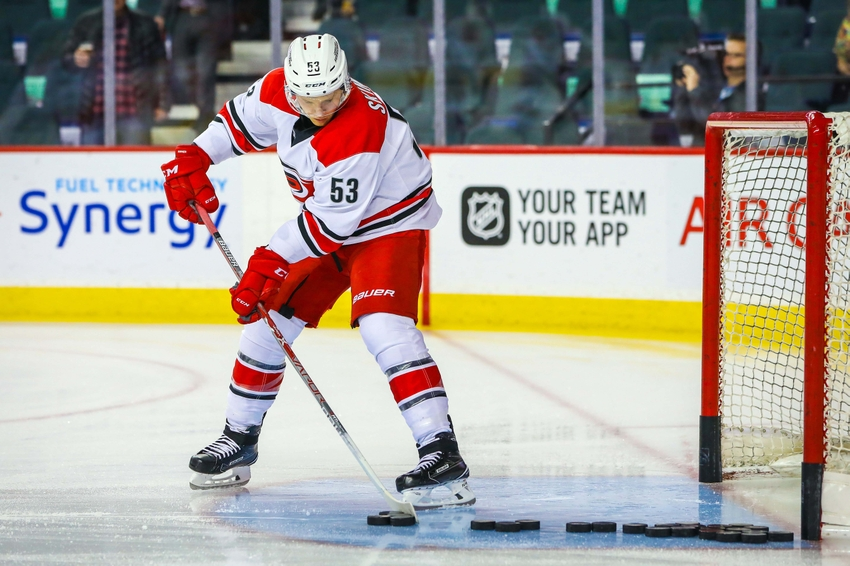 Carolina Hurricanes F Jeff Skinner Listed as Day to Day, May Miss Game in Detroit