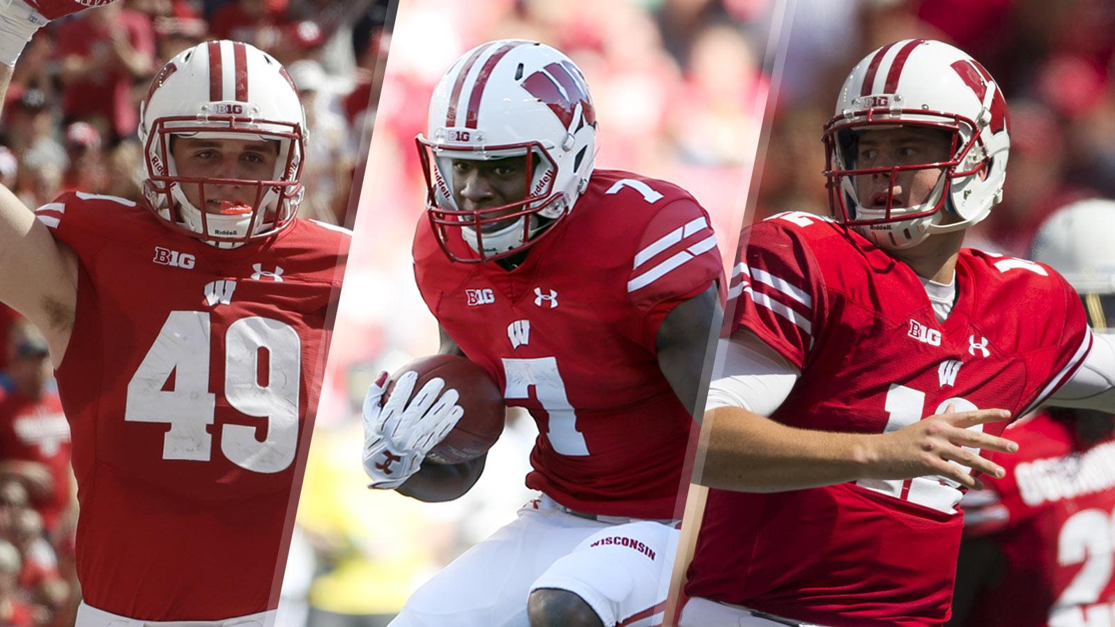 Young Badgers Tracker: Trio of redshirt freshmen make big impact