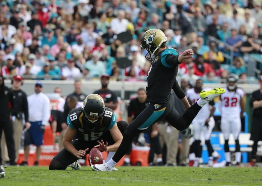 Jacksonville Jaguars: Jason Myers is Most Dependable Weapon In 2016