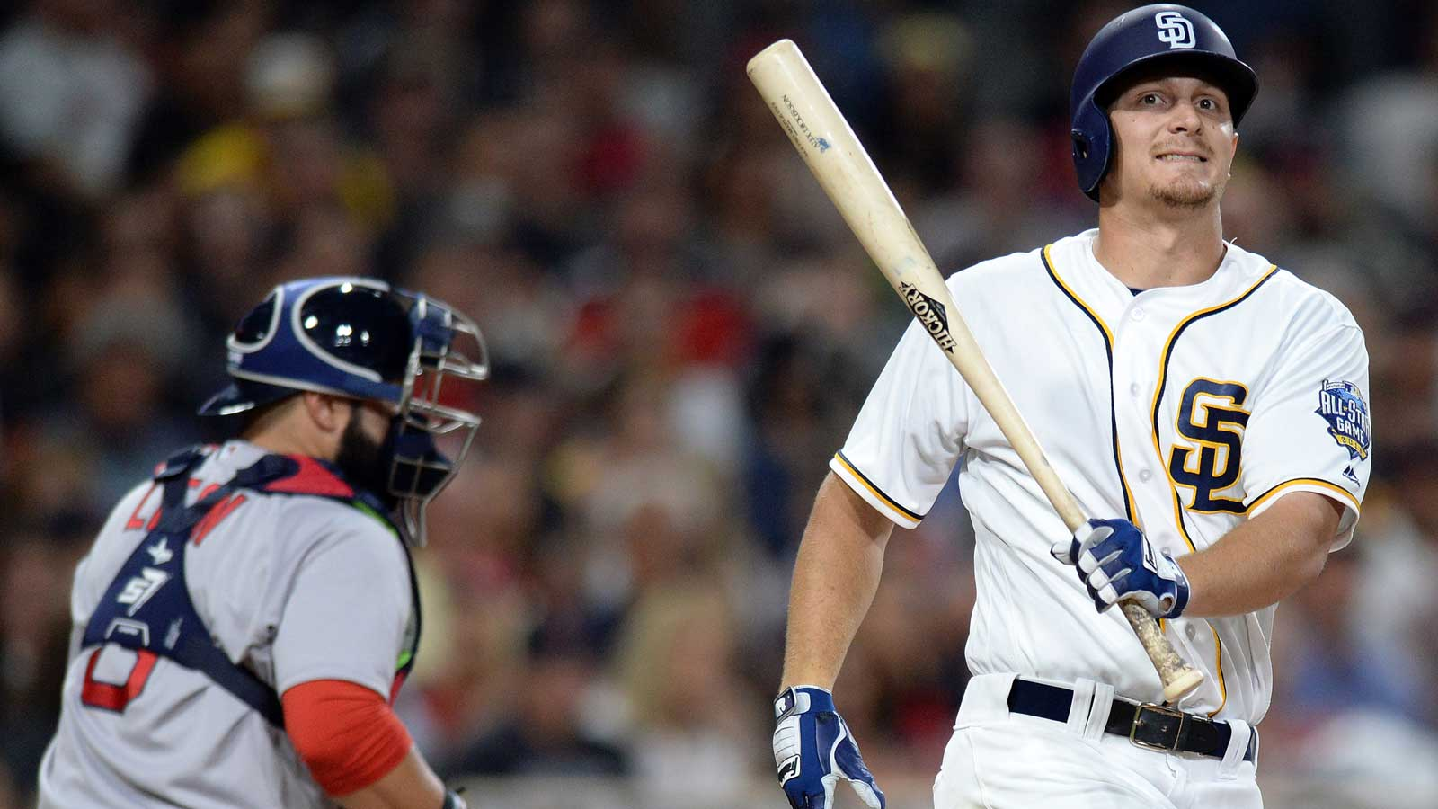 Clemens again falters as the Padres fall to Red Sox 5-1