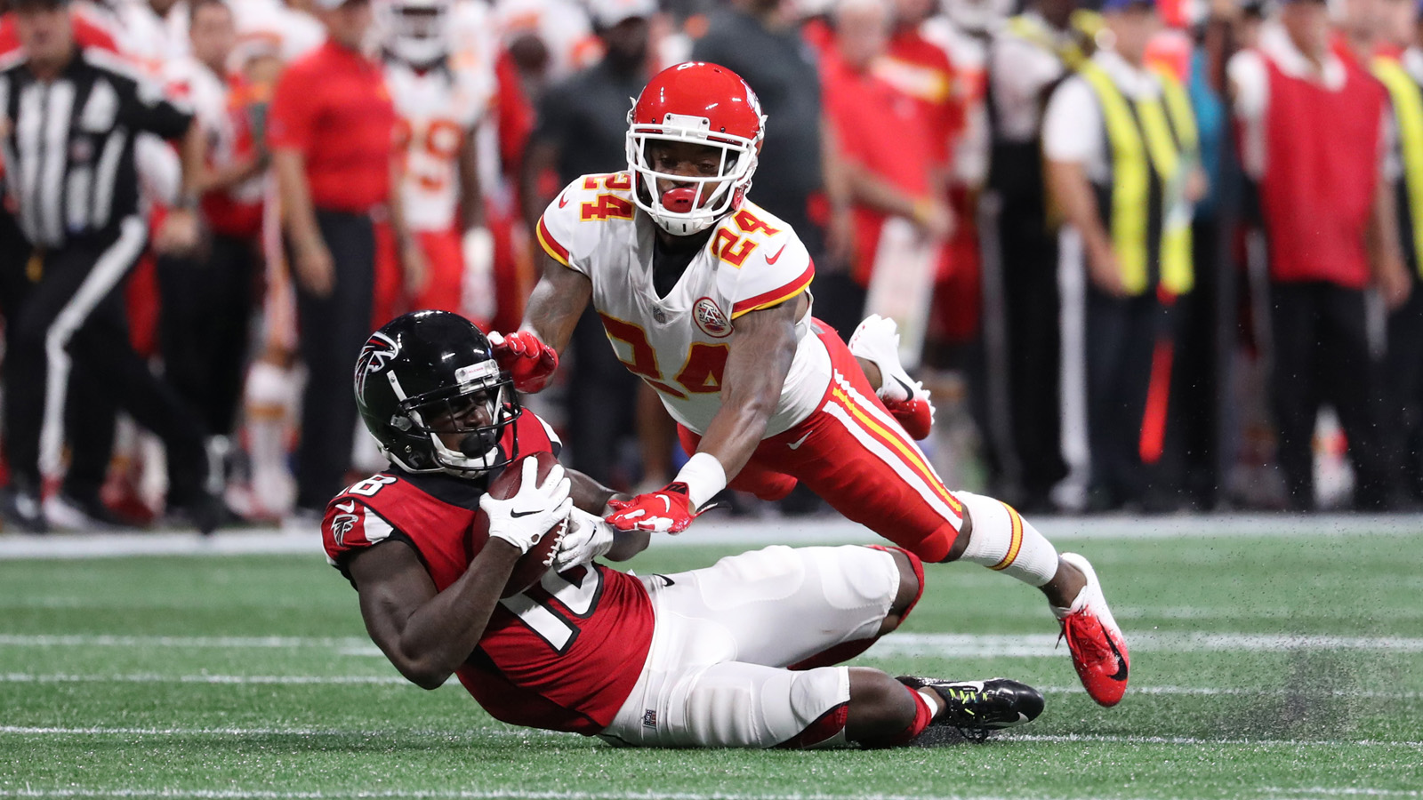 Amerson, Zombo among players let go in Chiefs' final cutdown