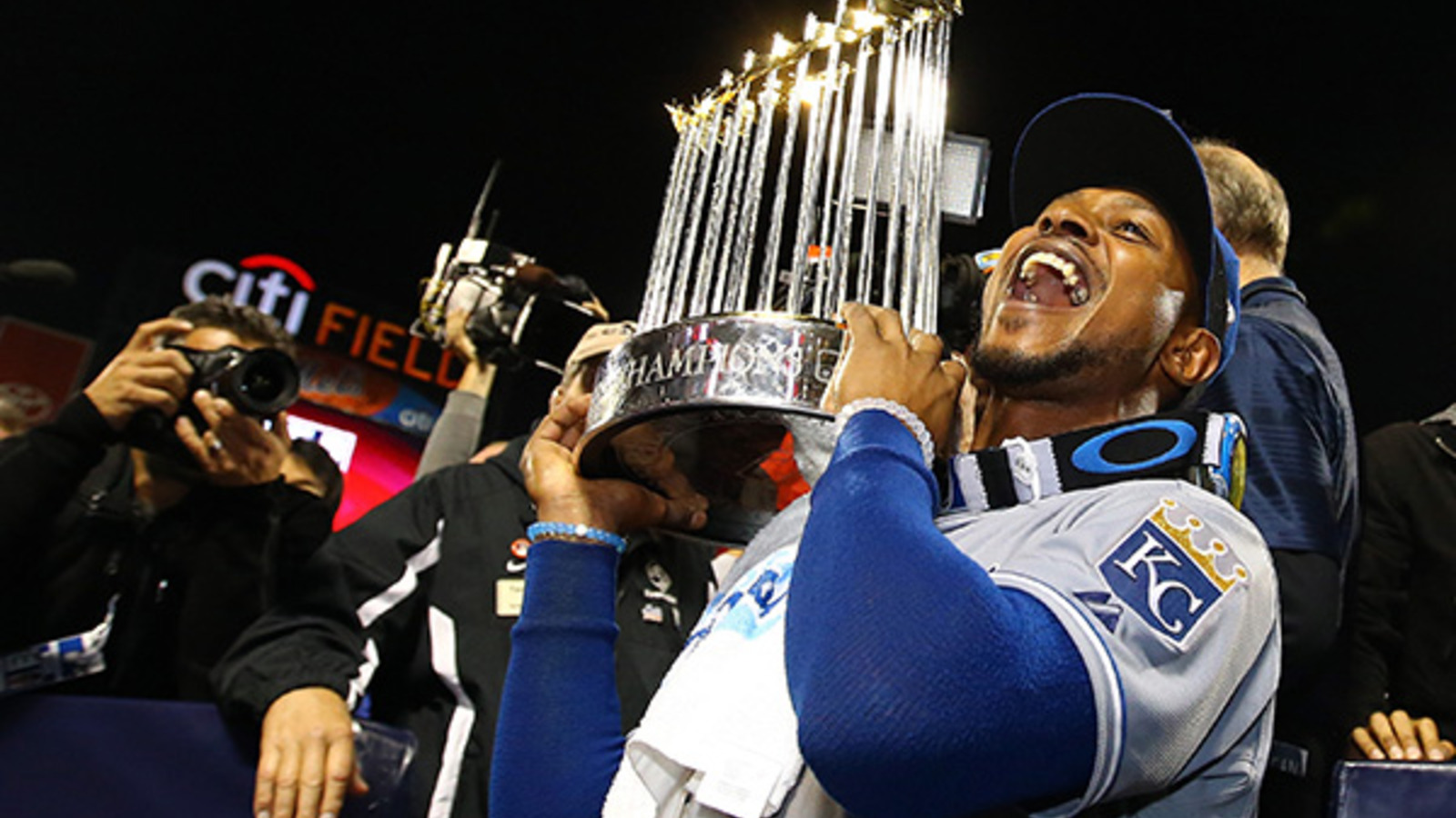 Royals outfielder gets street named after him after World Series win