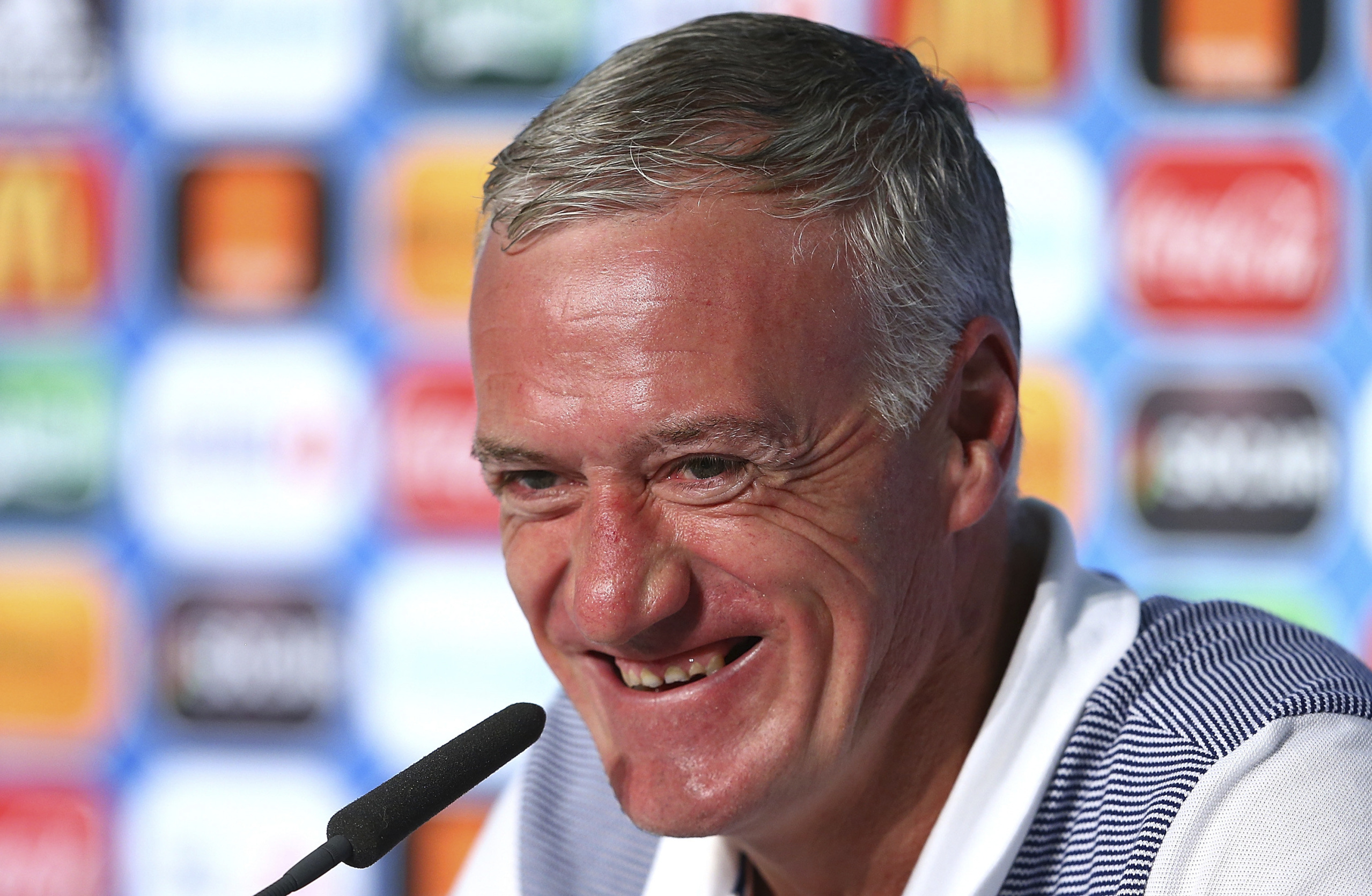 France are into the Euro final in spite of Didier Deschamps