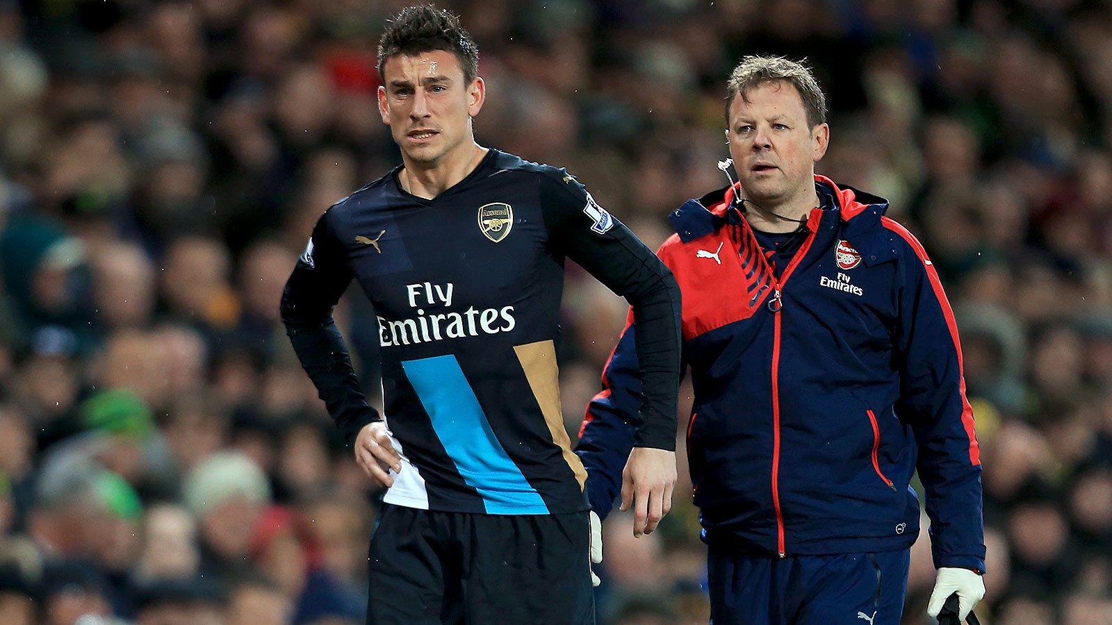 Arsenal hope Laurent Koscielny could return against Sunderland