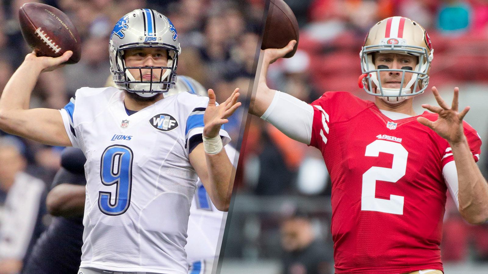 Six Points: 49ers vs. Lions