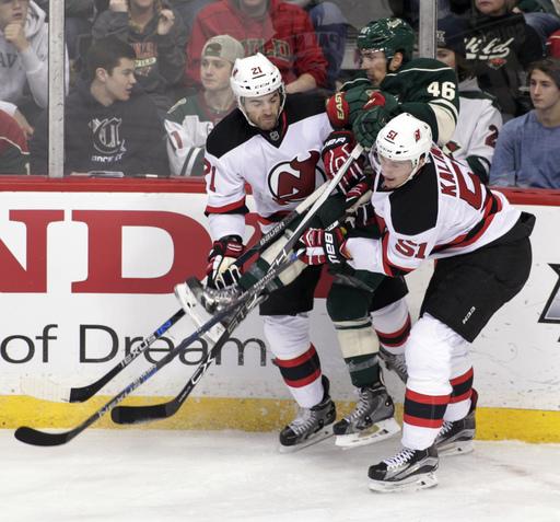 Merrill, Schneider lift Devils over Wild 2-1