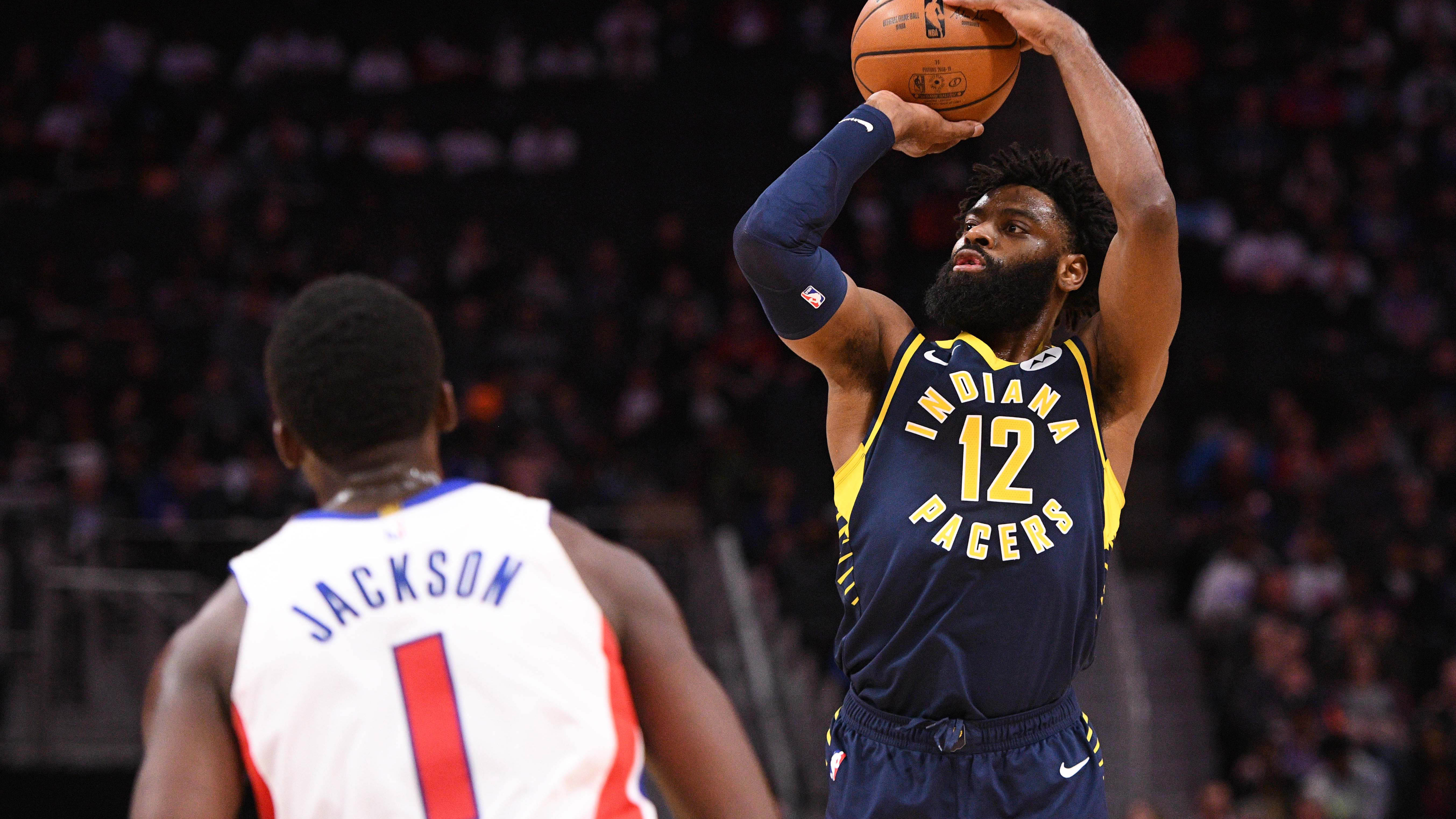 Young scores 21 as Pacers win back-to-back games over Pistons