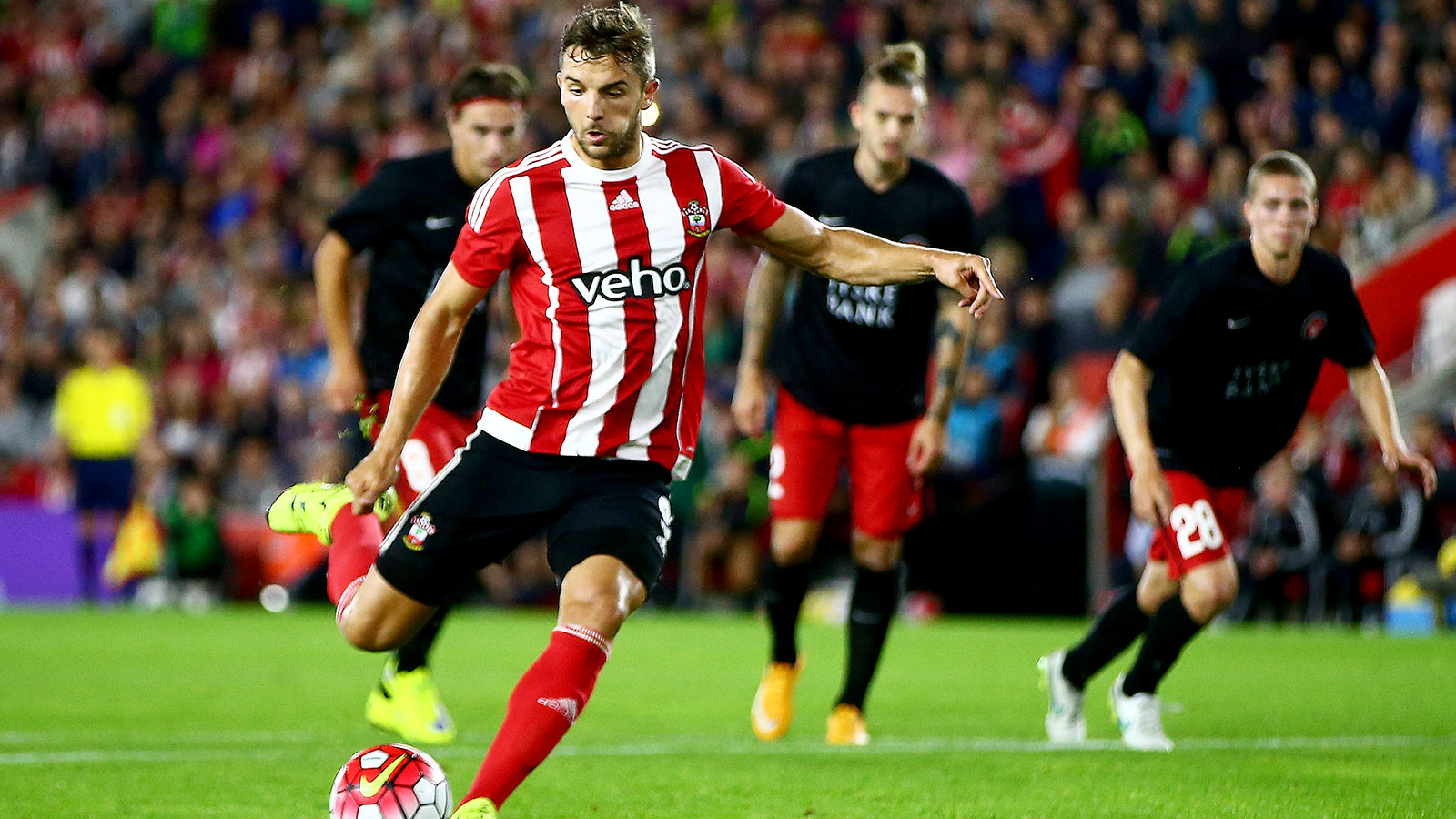 Southampton settle for first leg draw vs. Midtjylland in Europa playoff