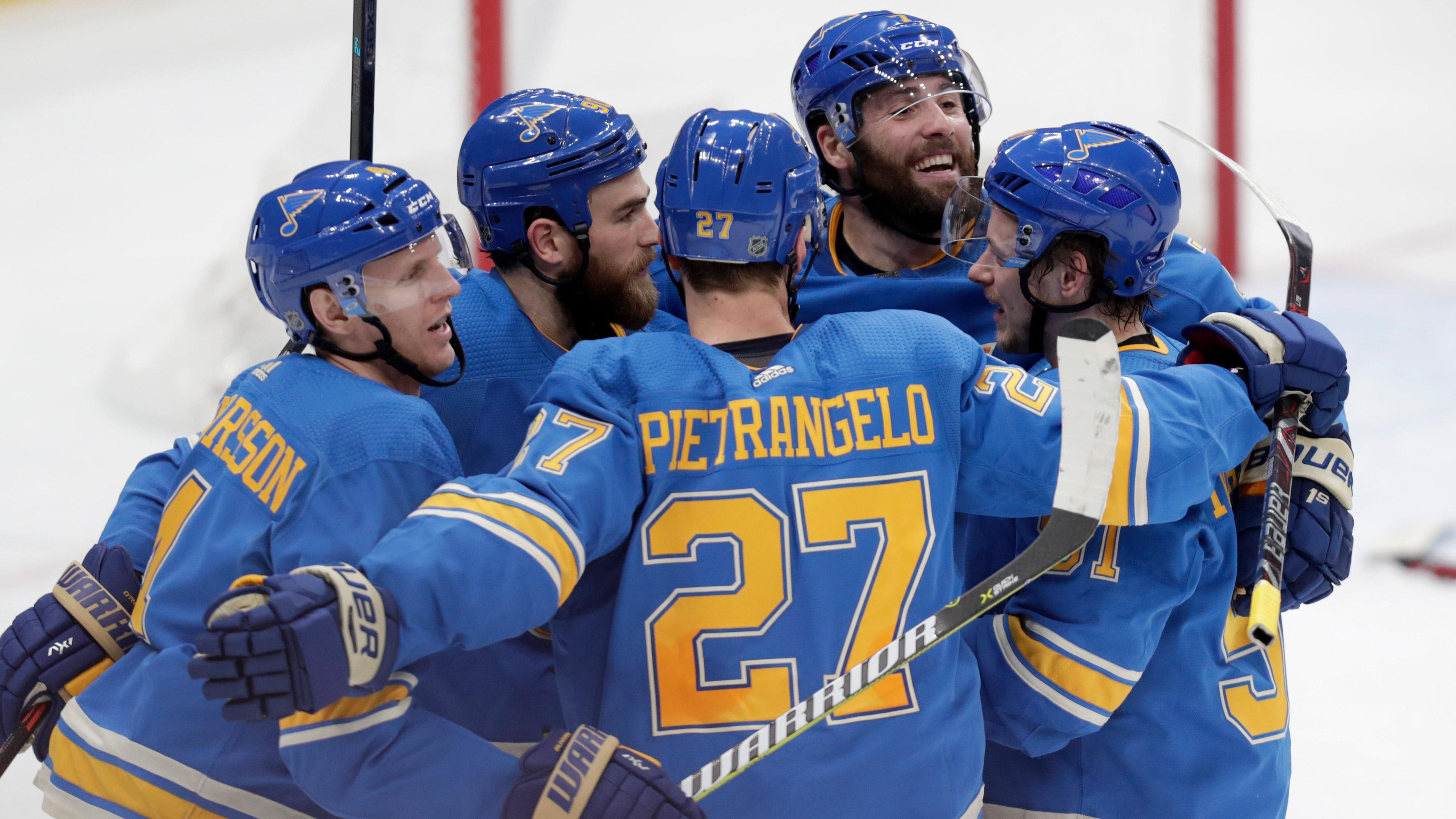 Gunnarsson's go-ahead goal leads Blues past Senators, 3-2