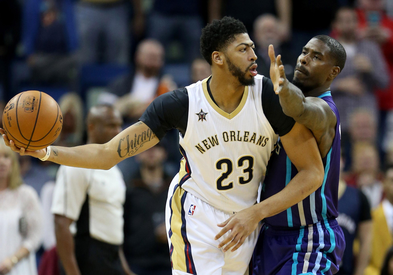 Davis, Pelicans edge Hornets in OT for 2nd straight win