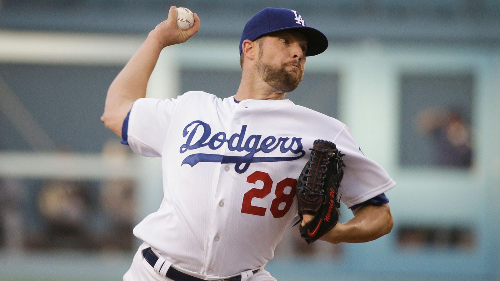Bud Norris dominant filling in for Clayton Kershaw in Dodgers debut