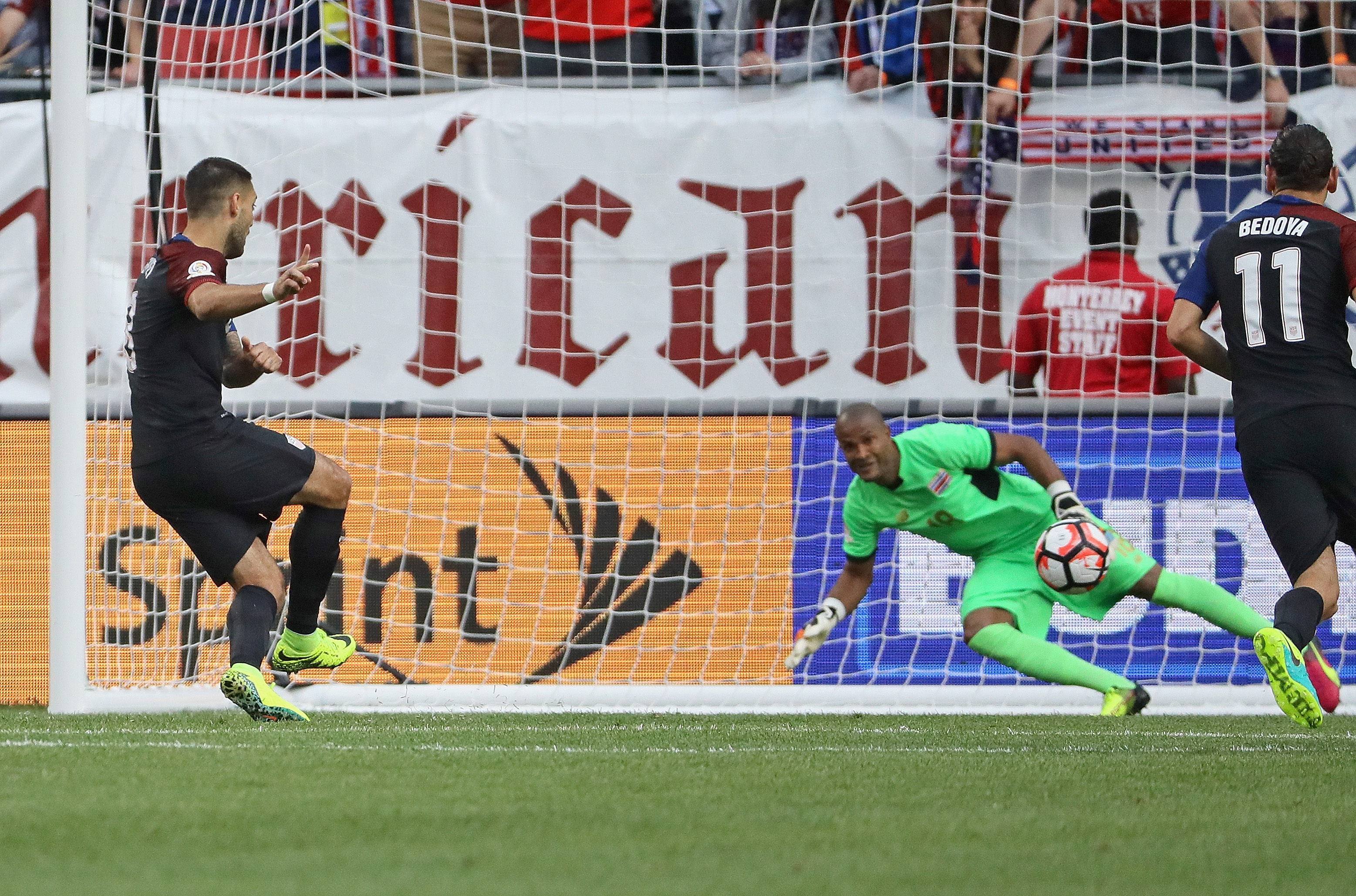 If the USMNT match is tied, it goes straight to penalty kicks and the Americans are ready