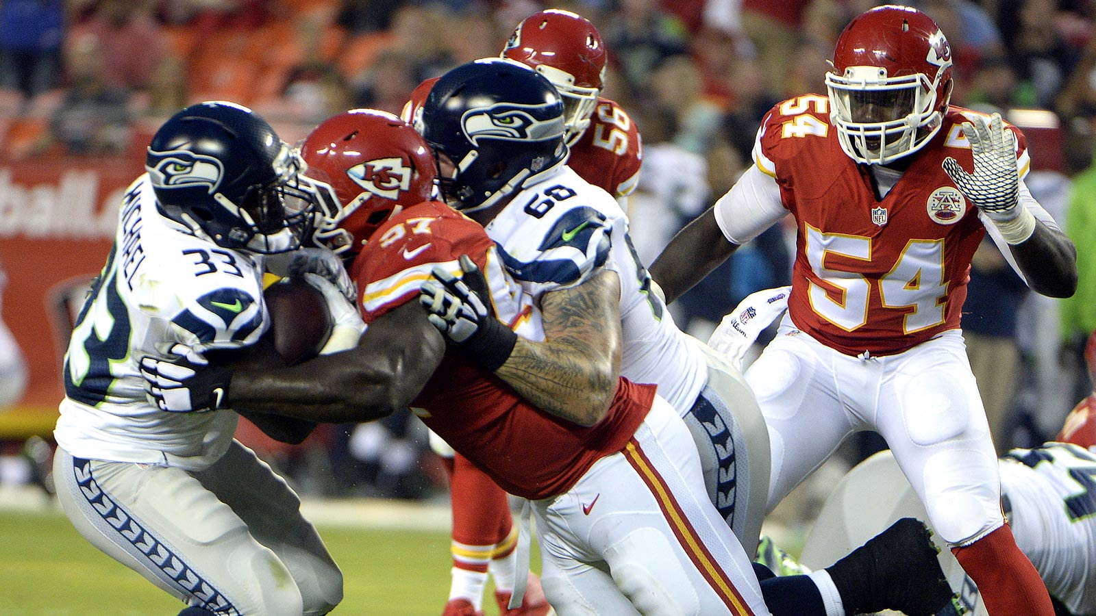 Seahawks, Chiefs can't get offenses off the ground