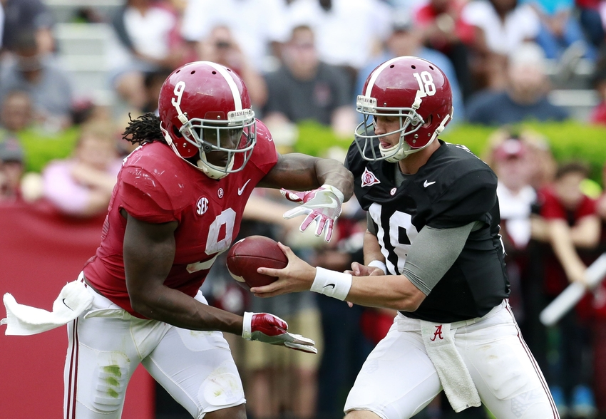 Picture of Alabama RB Bo Scarbrough goes viral on Twitter | FOX Sports