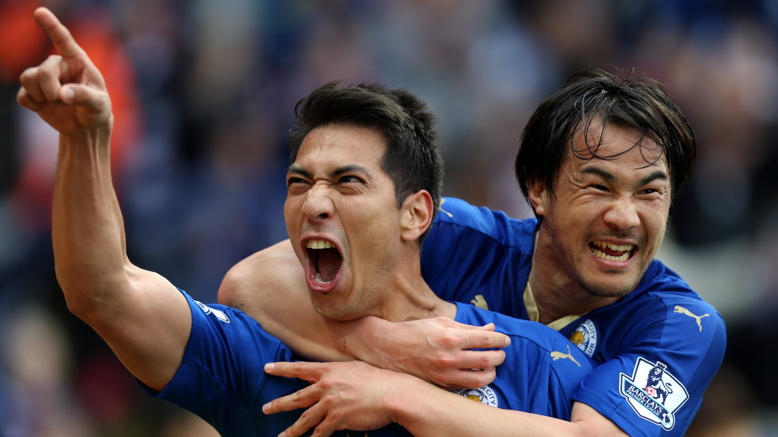 Leicester crush Swansea without Vardy, close in on Premier League title