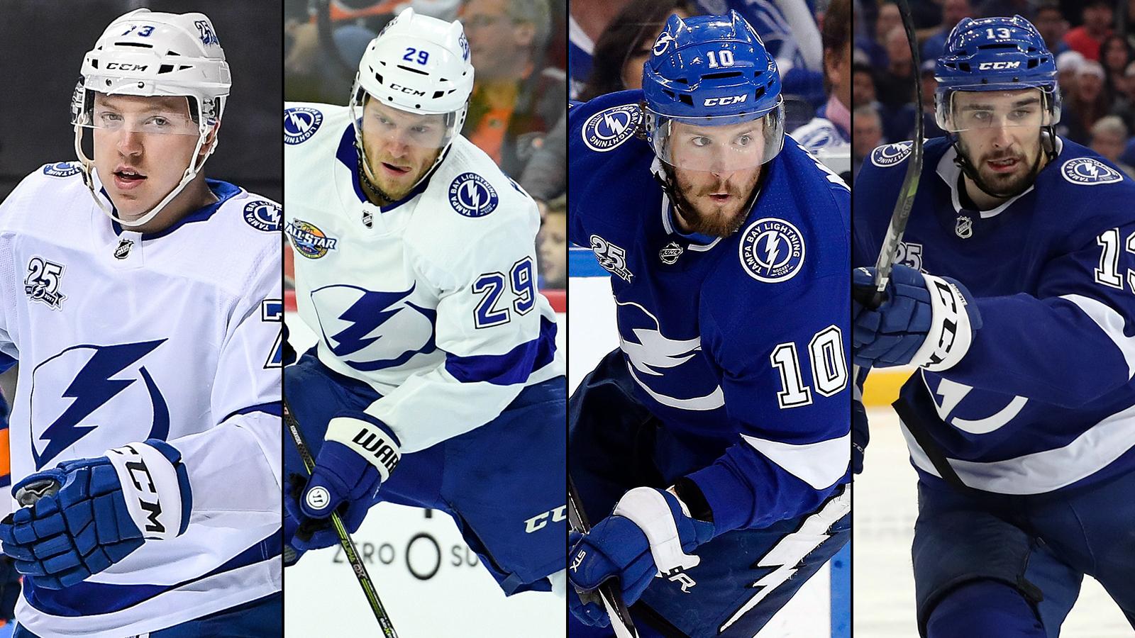 Lightning issue qualifying offers to Adam Erne, Slater Koekkoek, JT Miller, Cedric Paquette