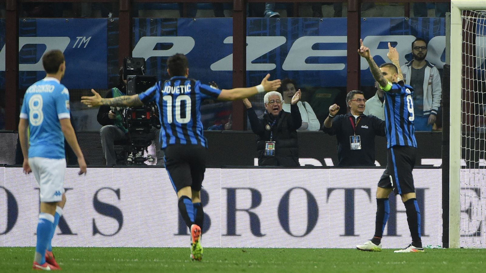 Mancini hails Icardi, Jovetic after Inter's win over Napoli