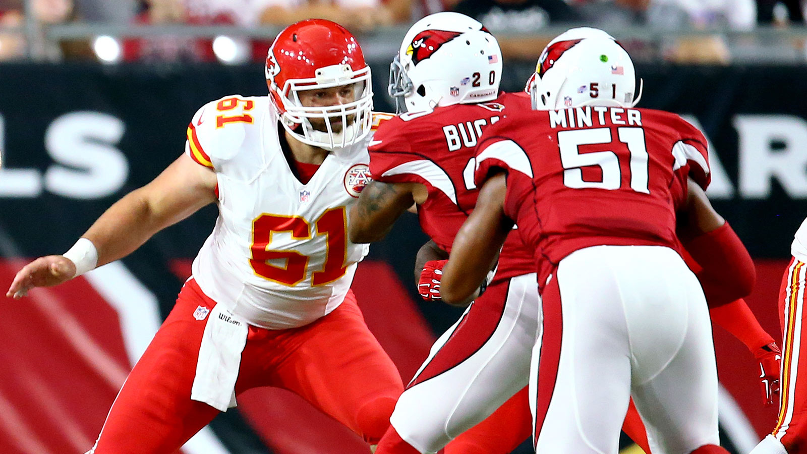 Chiefs' untested offensive line about to get first exam