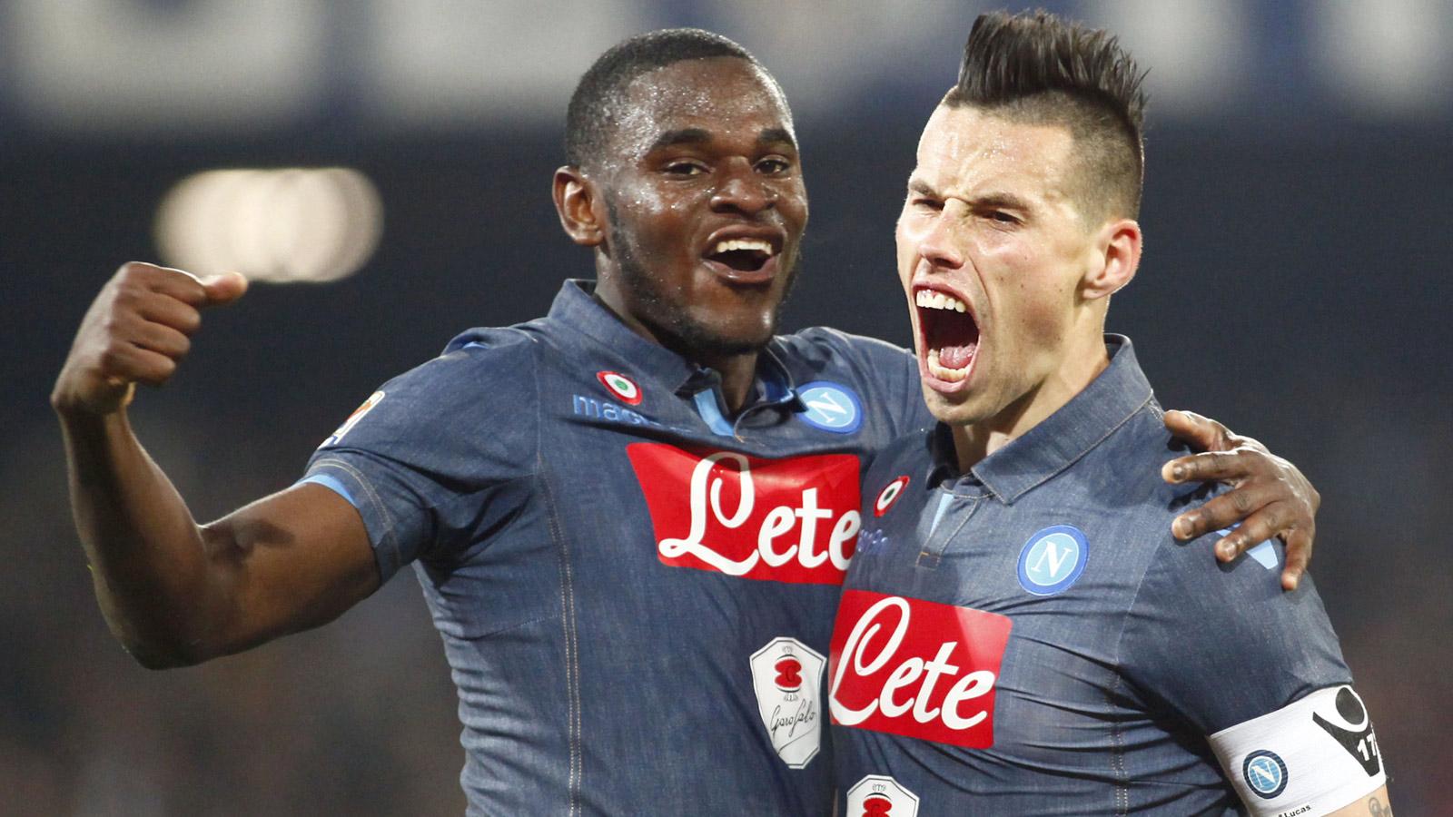 Napoli close in on Roma; Icardi leads Inter past Cagliari