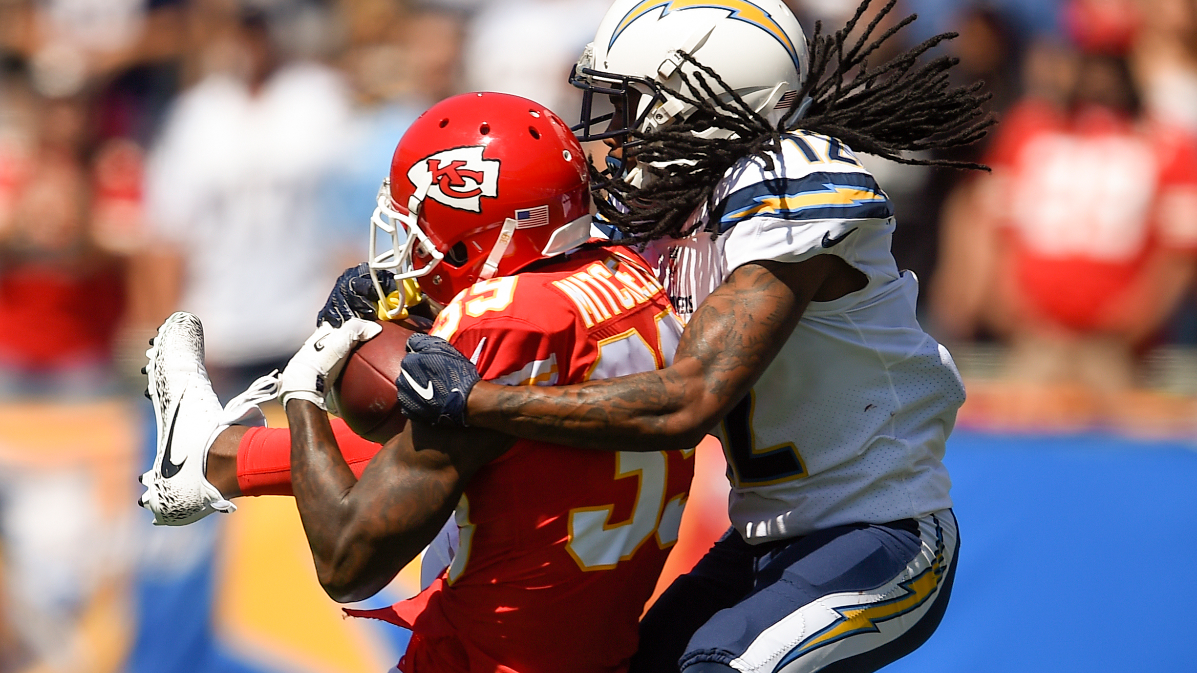 Chiefs' Mitchell is more than holding his own as 'the other cornerback'