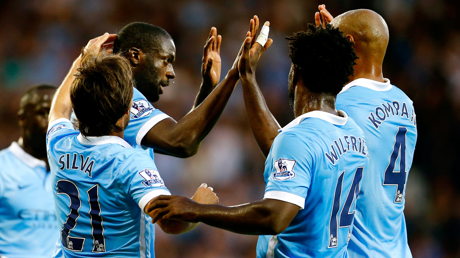 Yaya Toure sets transfer talk behind him after great start for City