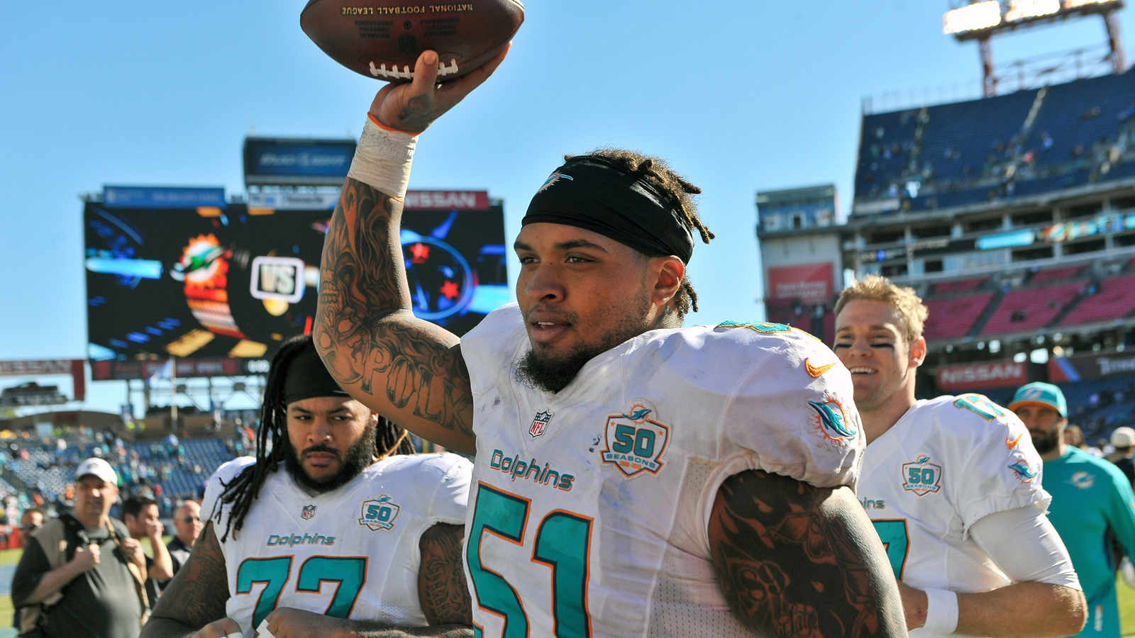 Dolphins place Mike Pouncey on IR, sign QB T.J. Yates
