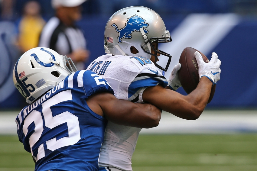 Patrick Robinson Among 4 Colts Already Ruled Out for Sunday
