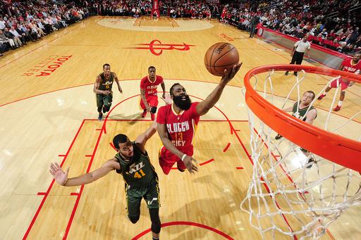 Harden, Rockets beat Jazz again, 103-94