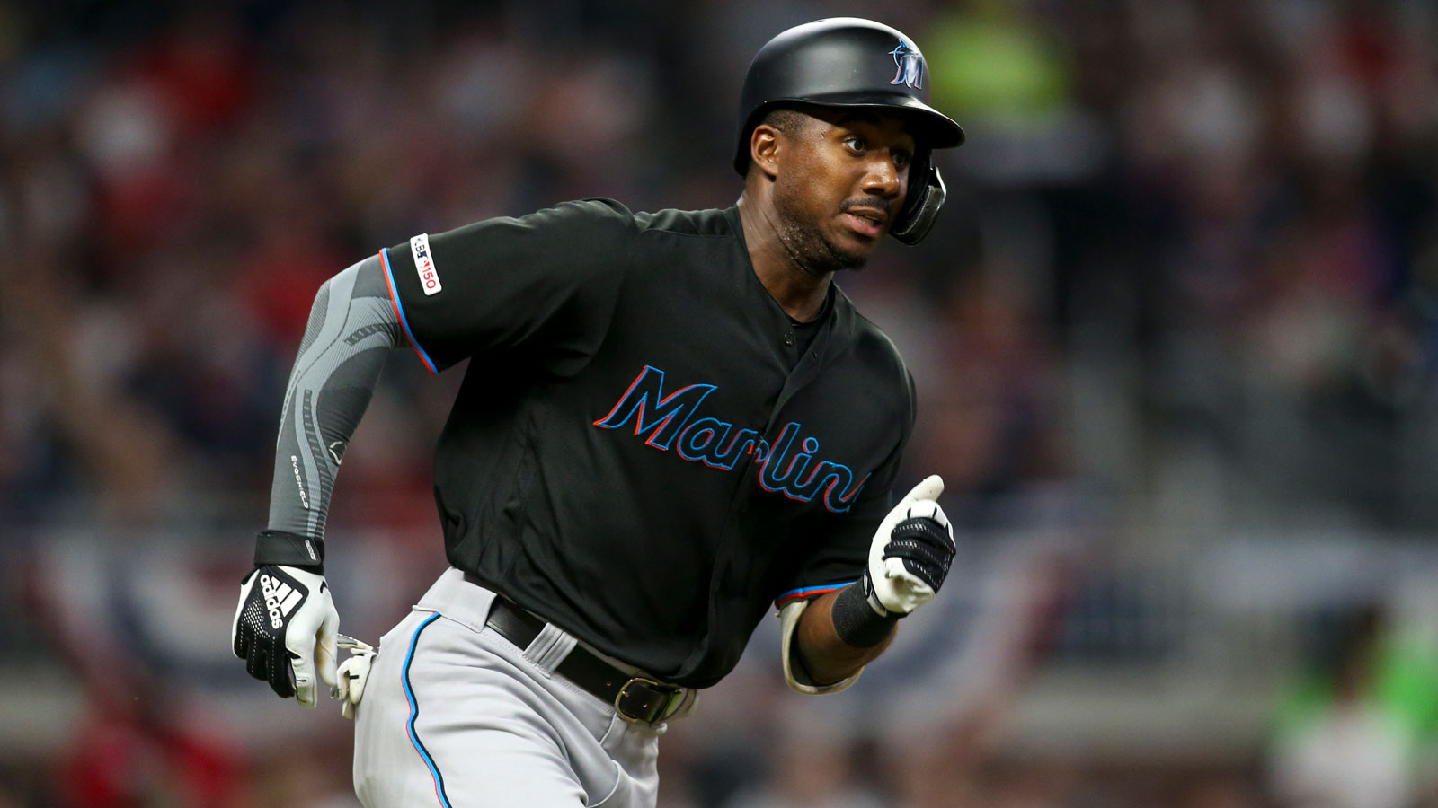 Marlins OF Lewis Brinson optioned to Triple-A New Orleans; Garrett Cooper reinstated but injured
