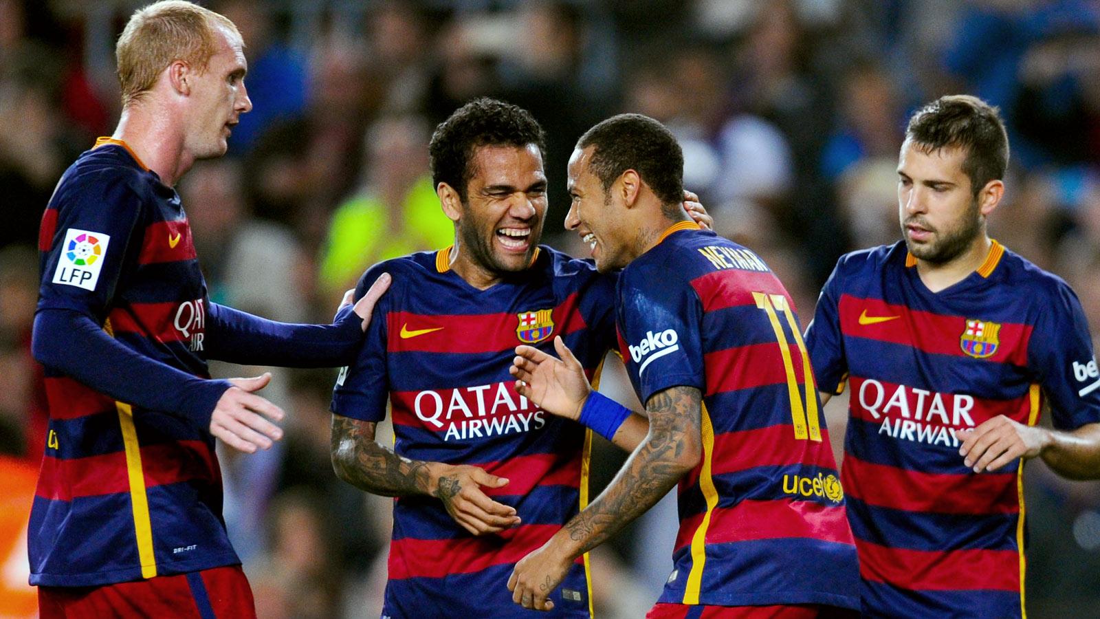 Neymar runs riot as Barcelona destroy Rayo Vallecano