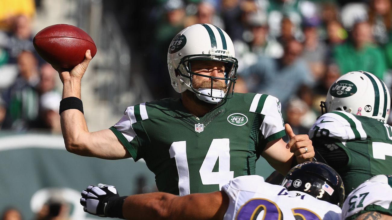 Jets QB situation becomes murkier after Ryan Fitzpatrick replaces injured Geno Smith