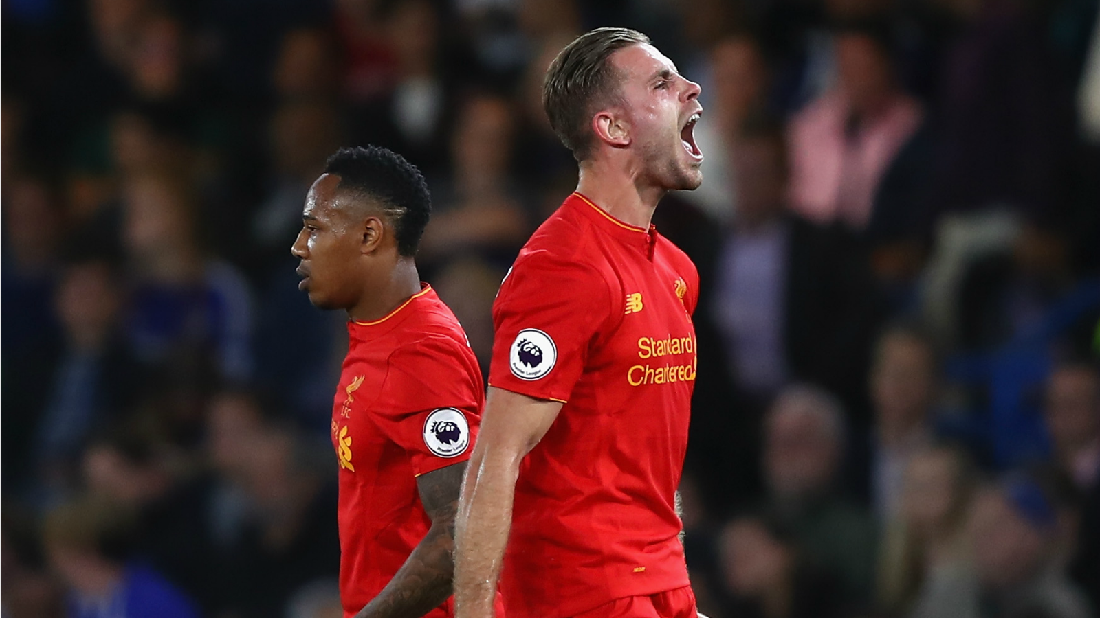 Watch Jordan Henderson's absurdly perfect 25-yard goal