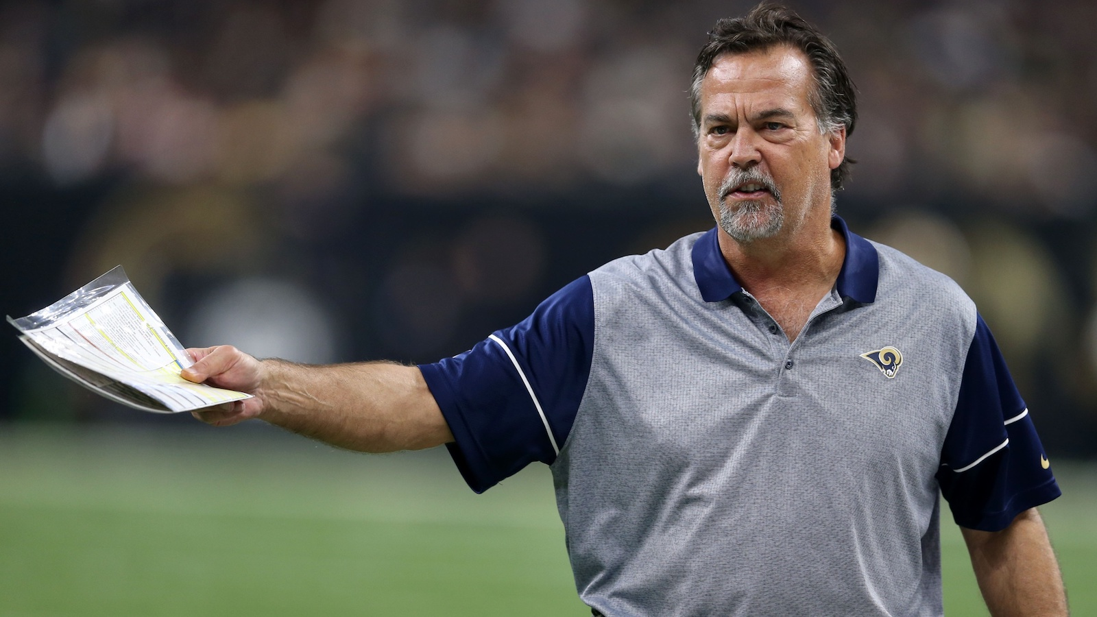 Rams coach Jeff Fisher can name only one Patriots running back