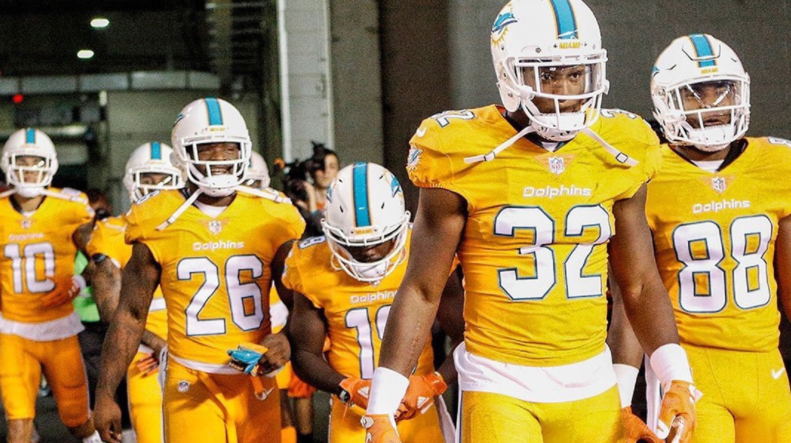 miami dolphins color rush jersey