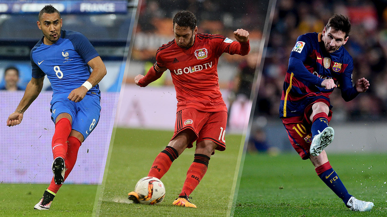 The 5 best free-kick takers on Earth right now