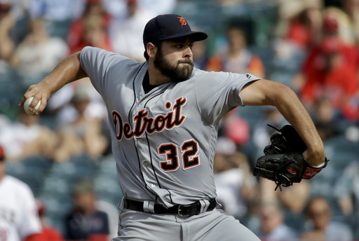 Tigers rookie flirts with no-hitter in win over Angels