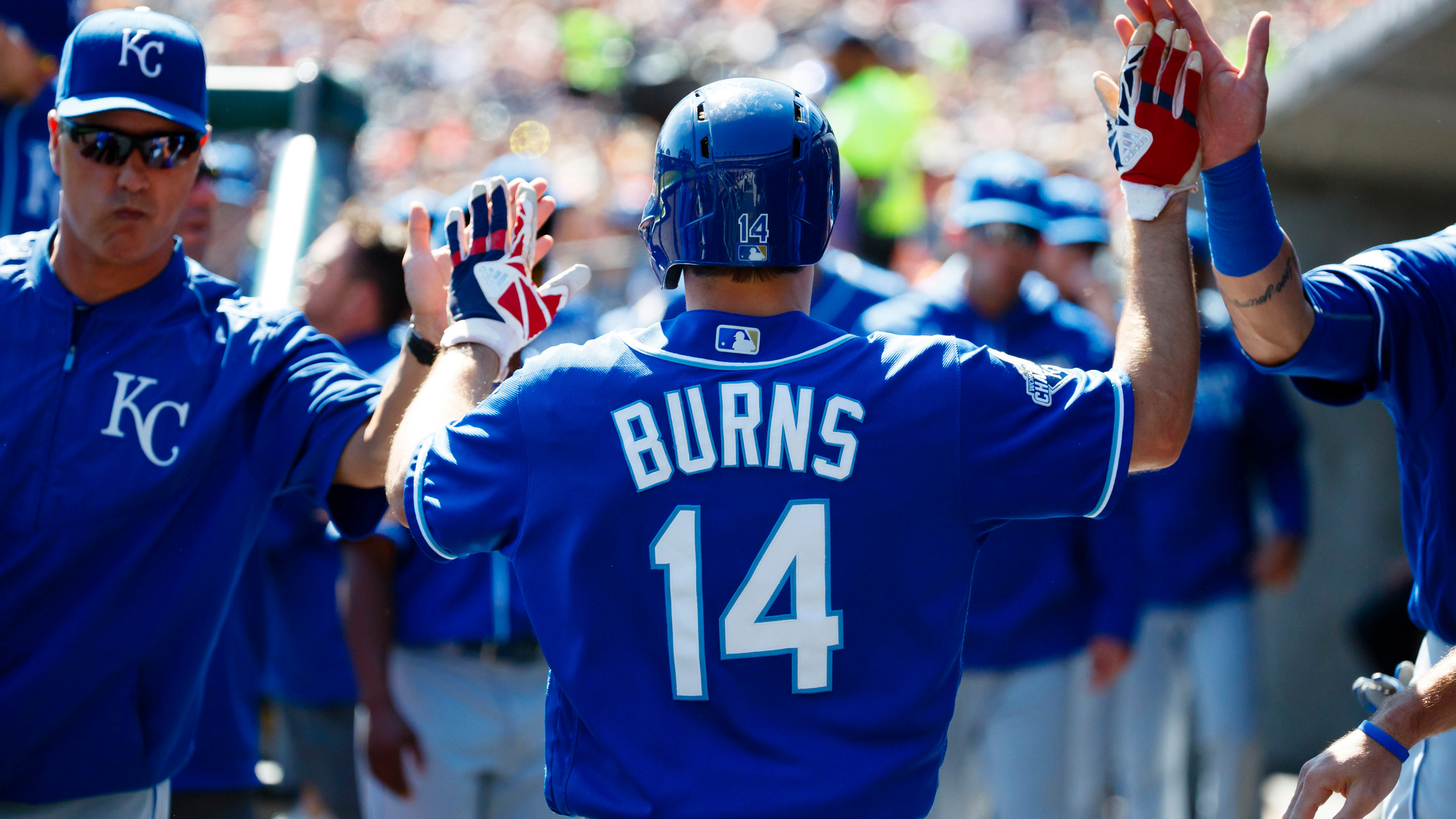 Dyson's departure could give Royals' Billy Burns more playing time