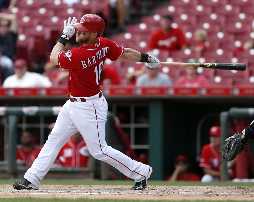 Cincinnati Reds watch Tucker Barnhart improve from after thought to possible future starter