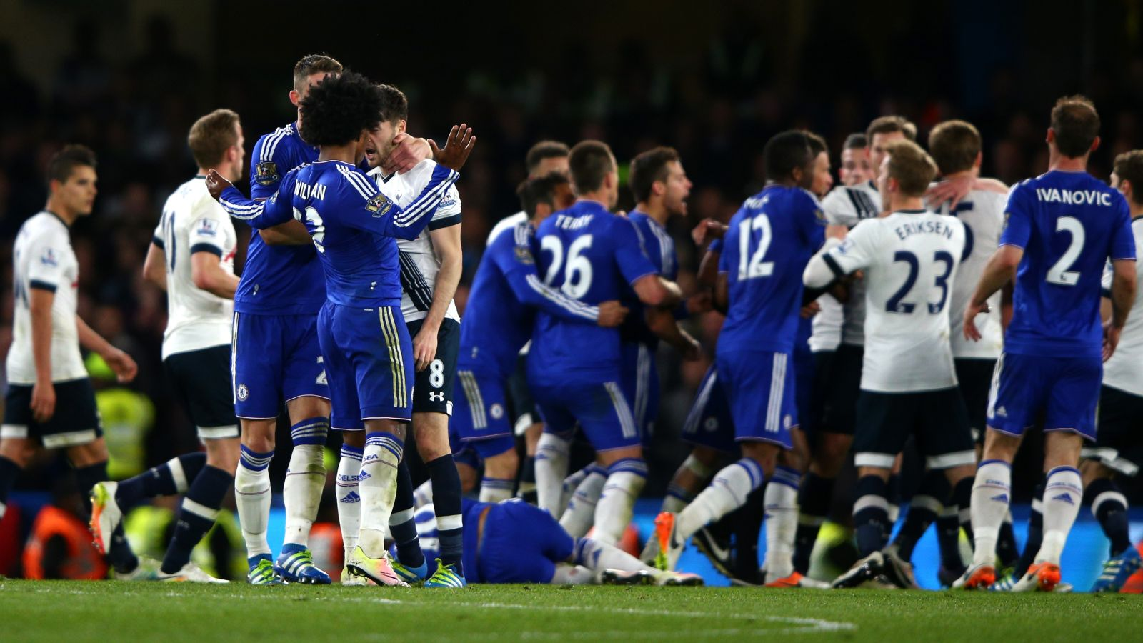 Spurs, Chelsea could be in hot water after bad-tempered affair