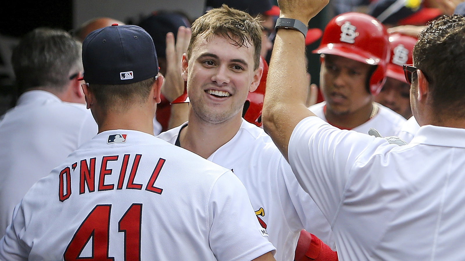 Thomas' huge day propels Cardinals to 11-9 victory over Pirates
