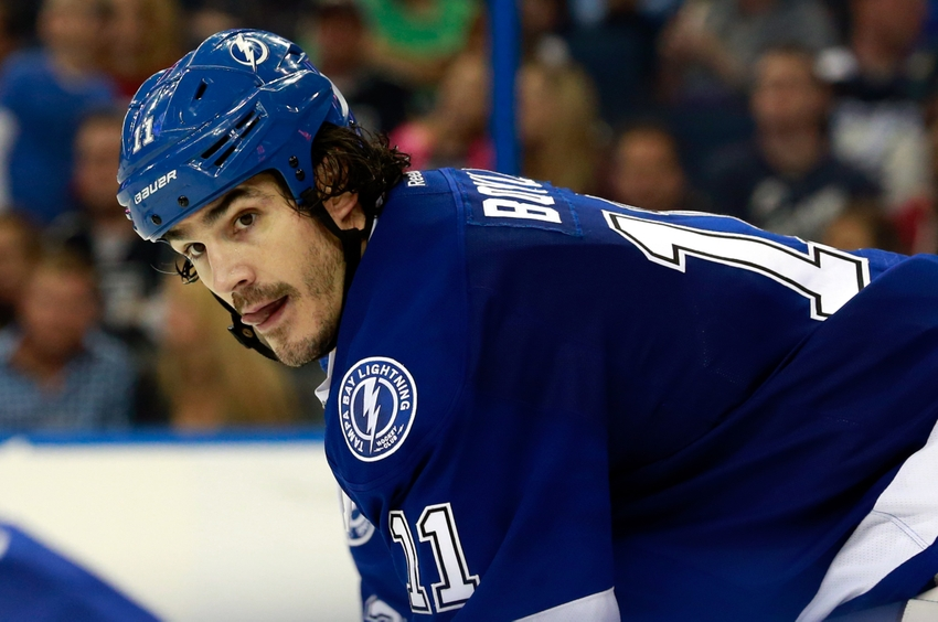 Tampa Bay Lightning F Brian Boyle Nailed In The Face By Stick (Video)