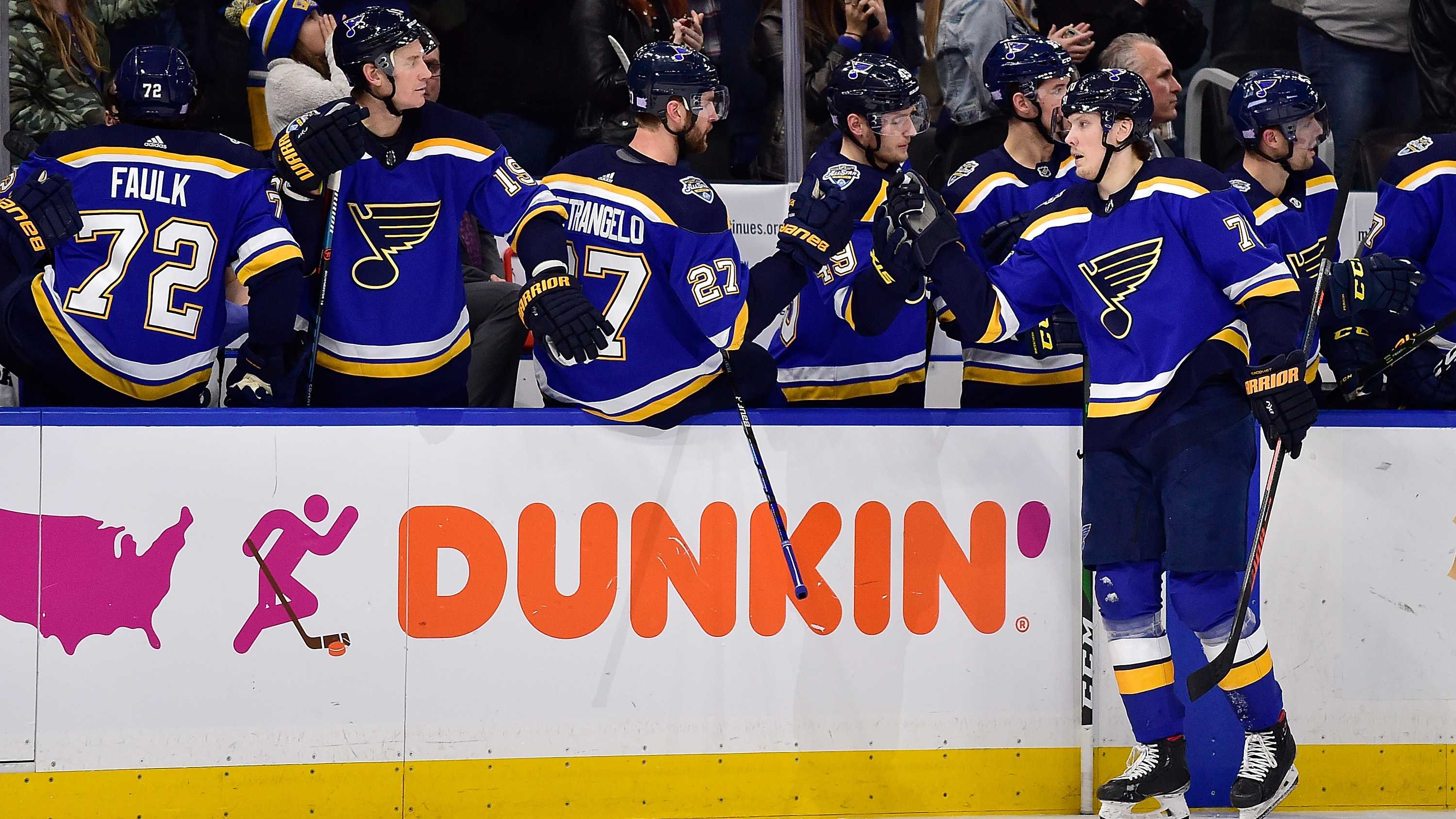 Blues spoil Maroon's homecoming with 3-1 win over Lightning