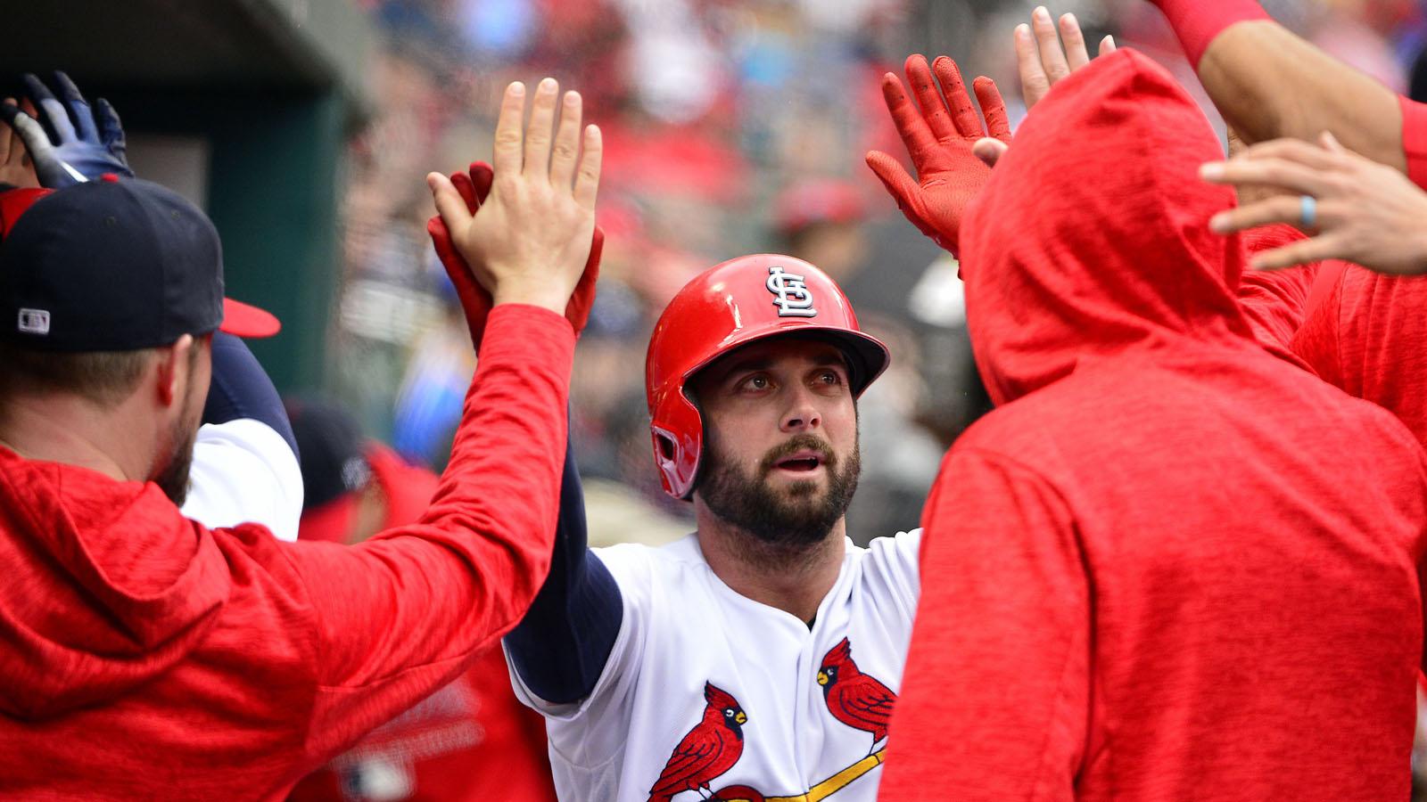 Padres claim Cardinals IF Greg Garcia off waivers