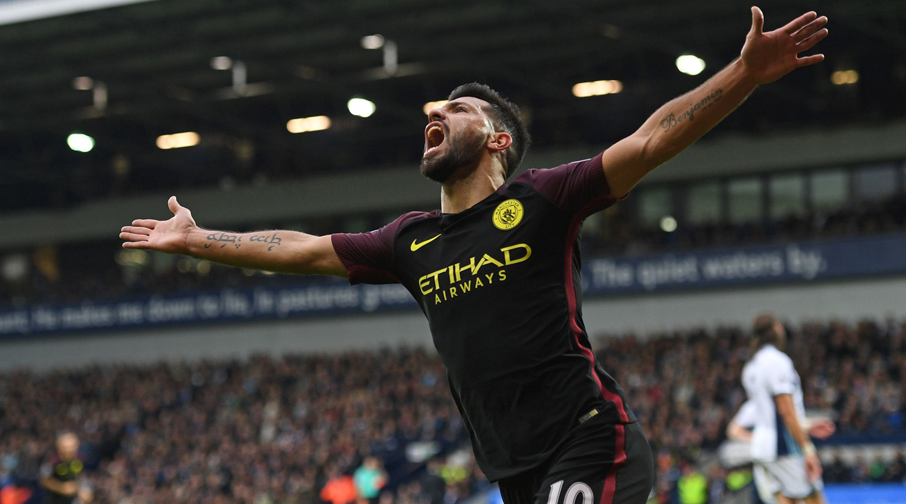 Sergio Aguero, Anthony Modeste turn in weekend's best showings in Europe
