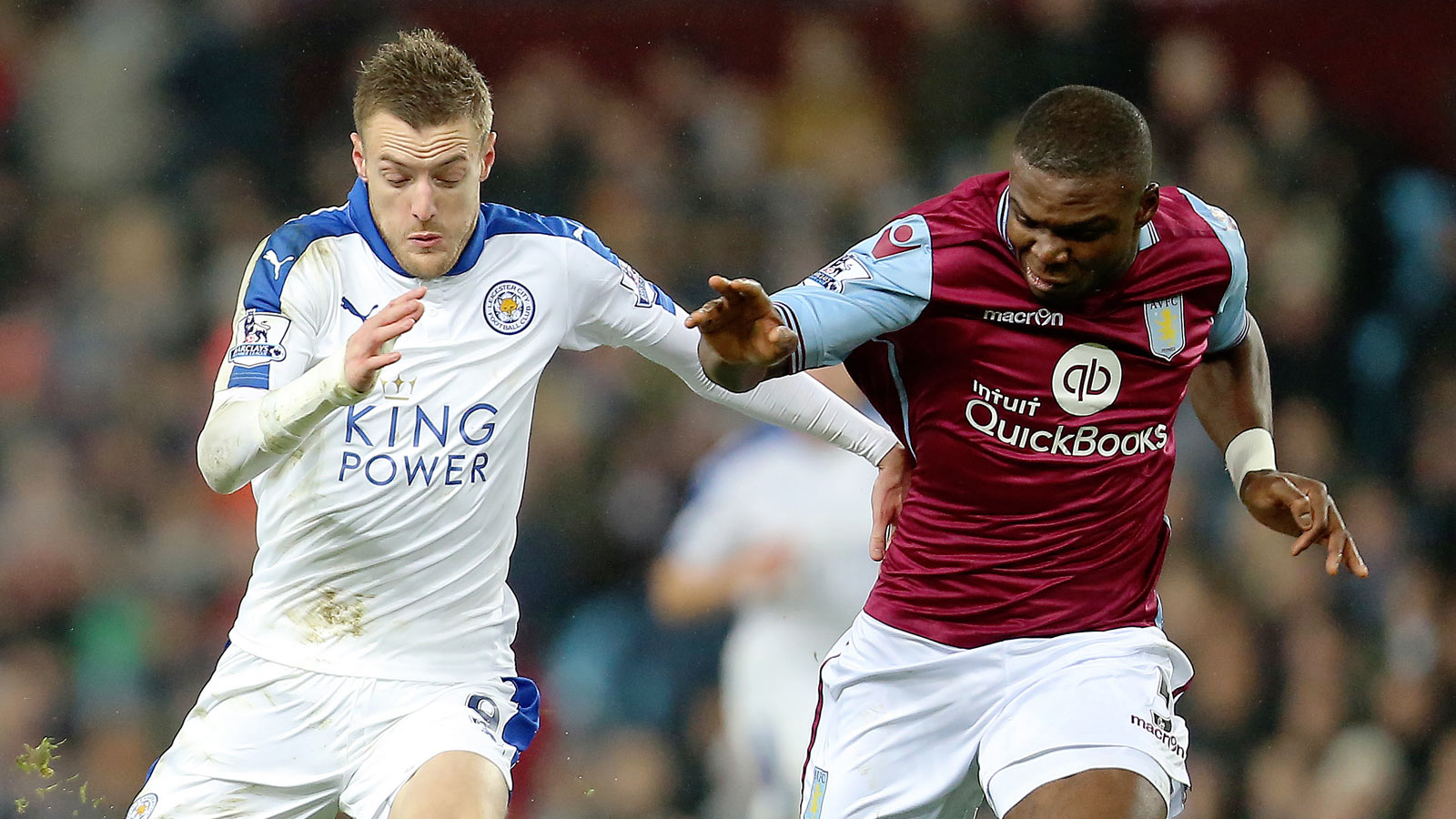 Leicester City share spoils with desperate Aston Villa