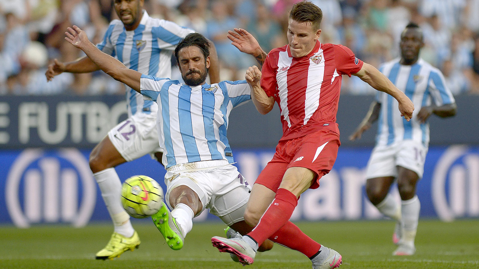 Sevilla open La Liga campaign with goalless draw at Malaga