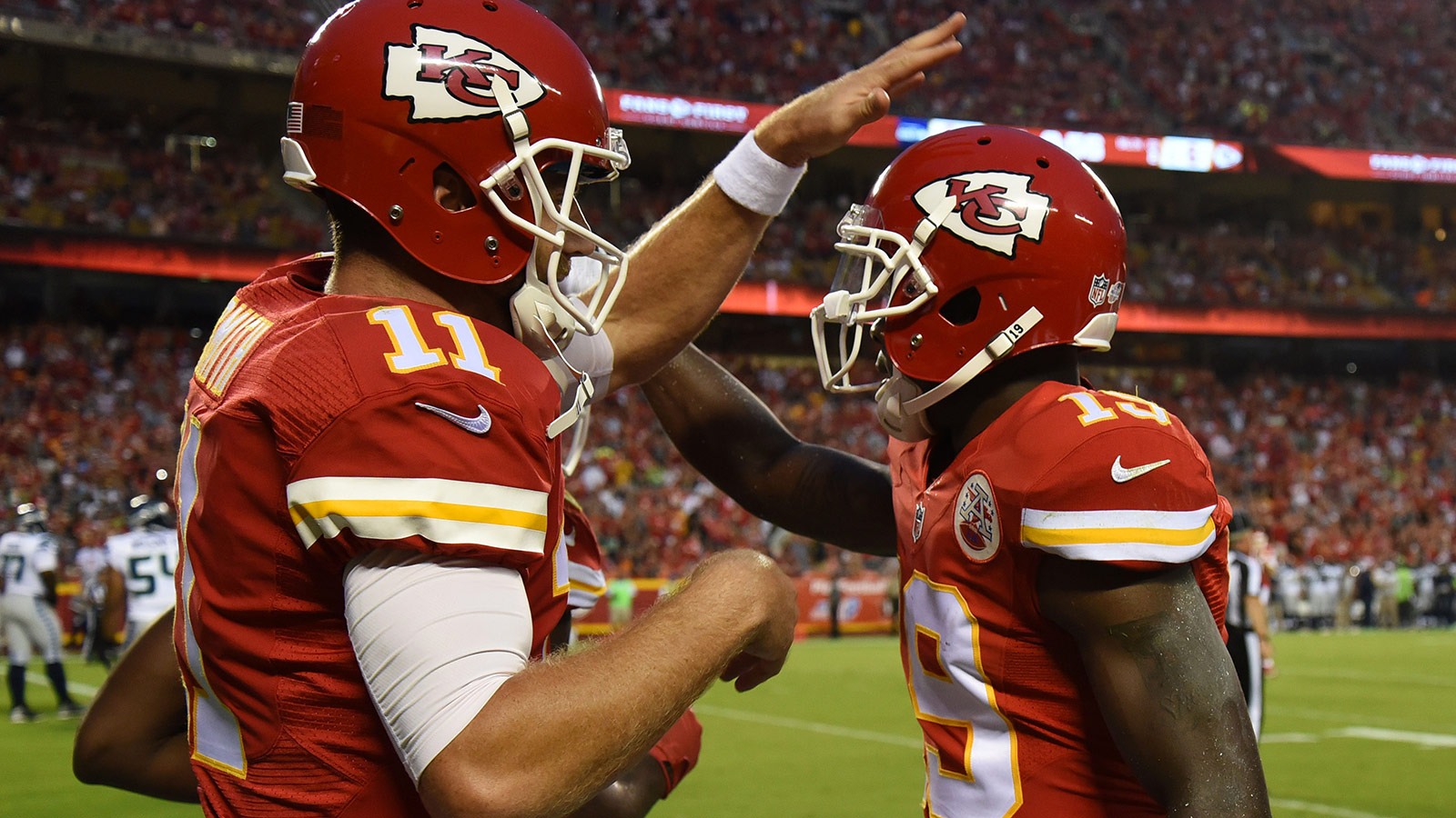Chiefs beat Seahawks 14-13 to improve to 2-0 in preseason