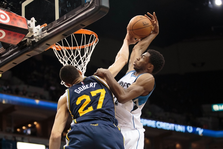Utah Jazz Notes: Andrew Wiggins Wants to Throw Down on Rudy Gobert