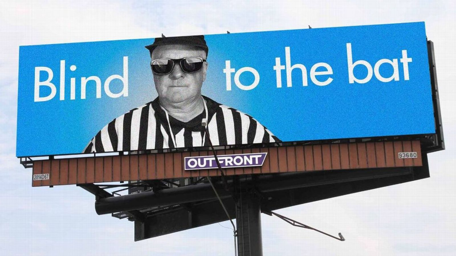 Lions fans protest MNF call with 'Blind to the bat' billboards
